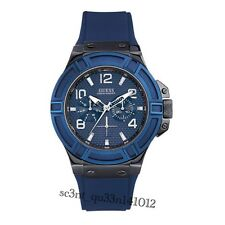 AUTHENTIC GUESS MEN'S RIGOR WATCH W0248G5 Brand New RRP: $349