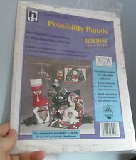 HTC Fun-dation Holiday Designs Possibility Panels Pre-Printed Foundation quilt