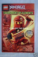 Comic Con 2015 Handout LEGO Ninjago Tournament of Elements Comic Sneak Preview