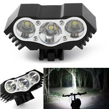 10000Lm 3 x CREE T6 Good Quality LED Bicycle Lamp Light Headlight Cycling Torch