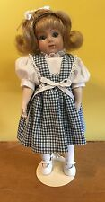 """Reproduction Bru Jne Girl Doll 11"""" Bisque Head Modern Composition Body"""