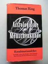Astrologische Menschenkunde Bd. III Kombinationslehre 1989 Astrologie