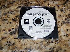 Final Fantasy Tactics (PS1, 2001) Game PS2, Game)