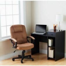Small Home Desk Study or Work Desk Student or Dorm Teen Corner Desk Black New
