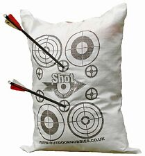 Archery Crossbow FILL YOURSELF Target BAG 45x60cm Stops Crossbow bolts at 10ft!