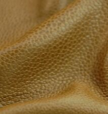 231 SF 3.5oz Tan / Brown Stingray print Upholstery  leather Cow Hide Skin a6bb-d