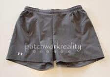 UNDER ARMOUR Heat Gear GEt GOing Gray Running Athletic Shorts SIze Small
