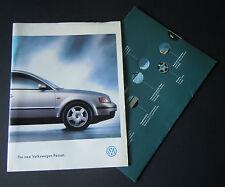 VW Passat sales brochure (1996) UK