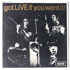 ROLLING STONES: Got LIVE if you want it! UK EP Unboxed Decca NM- 45 w/ PS