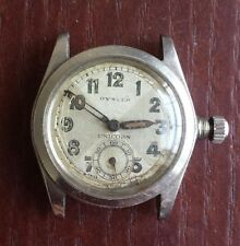 Rolex vintage steel oyster unicorn....1940s.  For service/ repair ?? .