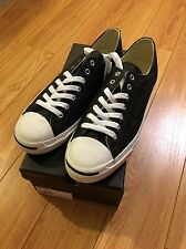 Jack Purcell Converse Black Leather Sneakers, Size 13, NIB - $95, Mr. Porter