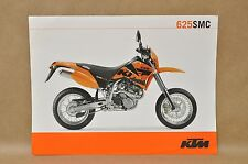 NOS New KTM SMC 625 Racing Sport Motorcycle Dirt Bike Tech Specs Brochure