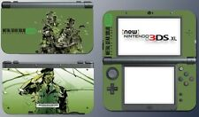 Metal Gear Solid 3 Snake Eater Big Boss 3D Game Decal Skin New Nintendo 3DS XL
