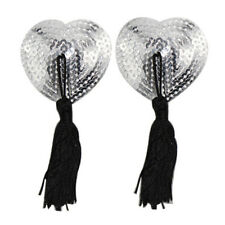 Sexy Tassle Pasties Nipple Covers Stick on Breast Bra Lingerie Lover Gift  LD