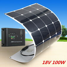 Sunpower 100W Solar Panel 100watt 18V Flexible Power Generator+ Solar Controller