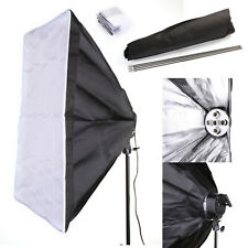 60x90cm Studio Light Photography Softbox Umbrella Fr 5 Socket E27 Lamp Bulb Head