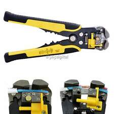 New Automatic Cable Crimper Crimping Tool Stripper Self Adjustable Plier Cutter