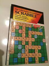 Scrabble, Kreuzwortspiel, Regeln, Falken, guter Zustand, 1991, Taschenbuch