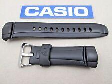 Genuine Casio G-Shock G-7300 G-7301G resin rubber watch band strap black