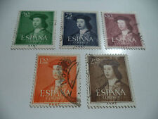 SELLOS DE ESPAÑA 1951 EDIFIL 1106 TO 1110 USED IN NICE CONDITION
