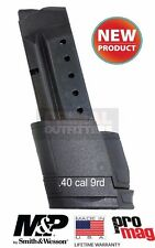 ProMag Smith&Wesson S&W M&P Shield .40cal Extended 9 Round Magazine SMI31 NEW
