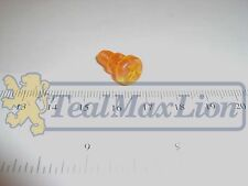 Vis plastique orange de transparent de feu bicolore AV Peugeot 504 cc M1980-