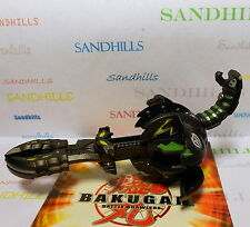 Bakugan Clawsaurus Black Darkus Gundalian Invaders DNA 730G