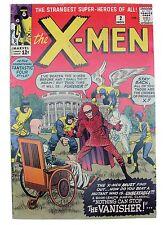 X-Men #2 (VG+) 4.5 1st Appearance of The Vanisher