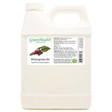 32 fl oz Wintergreen Essential Oil (100% Pure & Natural) Plastic Jug