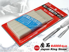 Japanese King Sculptor's Whetstone 4000 Grit Sharpening For Carving Tools