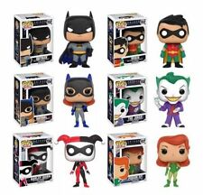 Funko Batman Animated Series Set Batman Robin Harley Joker Batgirl Poison Ivy