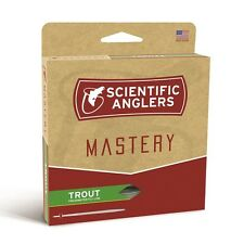 Scientific Anglers Mastery Trout Fly Line - WF2F - Color Optic Green/Green - NEW
