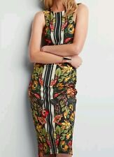 * NEXT * FLORAL PRINT BODYCON MIDI  FITTED DRESS SIZE 10 PETITE NEW WITH TAGS.