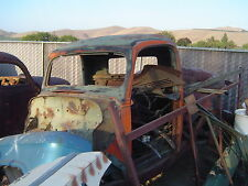 1938-1939 FORD PICKUP CAB WITH FRONT FENDERS ON FRAME...GASSER..HOT ROD..RAT ROD