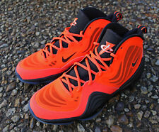 2013 Nike Air Penny V 5 total Crimson Us 10 Uk 9 Eu 44 Negro Brillante 537331-800