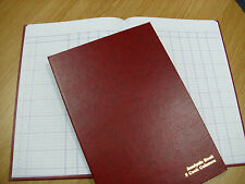 A4 HARD BACK 5 CASH COLUMNS ANALYSIS / ACCOUNTS BOOK - 96 PAGES BRAND NEW