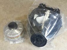 SGE 150 Gas Mask & Nuclear/Biological/Chemical 40mm NATO Filter -NEW mfg in 2015