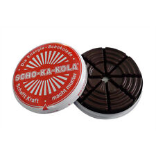 Scho-Ka-Kola Zartbitter Schokolade 100 g Dose / Energie-Schokolade / SchoKaKola