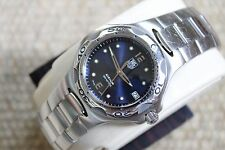 Tag Heuer Navy Blue Kirium Watch Mens WL111F Professional Mint Crystal COST $2K