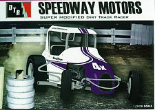 Speedway Motors #4X Super Modified model kit