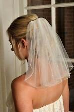 2017 New 1t ivory Wedding Bridal Veil 45cm Length  With Comb DDM531YP1