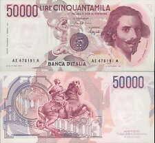 """50.000 lire 1992 """"Bernini"""""""