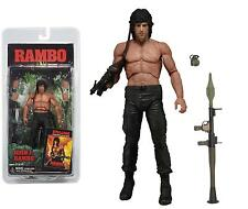 "Rambo first blood part ii (2) 1985 john j. rambo 7 ""inch action figure neca"