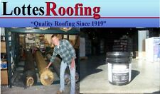 10' x 15' BLACK 60 MIL EPDM RUBBER ROOF  W/ADHESIVE