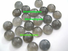 AAA Quality 25 Pc Gray Moonstone 6X6 mm Round cabochons Loose Gemstone