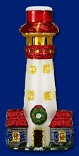 LIGHTHOUSE OLD WORLD CHRISTMAS FROSTED GLASS NAUTICAL OCEAN LIGHT COVER 52015