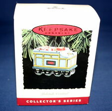HALLMARK 1995  YULETIDE CENTRAL CANDY CAR  #2  IN THE YULETIDE CENTRAL SERIES