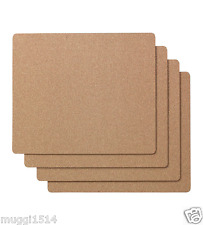 IKEA AVSKILD Place Mat Cork 42x32 cm 4 Pack Table Dining