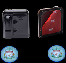 2PCS Liverpool Wireless Car door Projector Logo ghost shadow LED Welcome light