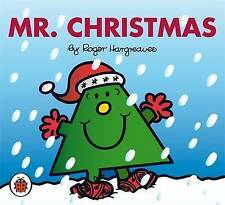 NEW sparkly MR CHRISTMAS ( BUY 5 GET 1 FREE book ) Mr Men Little Miss